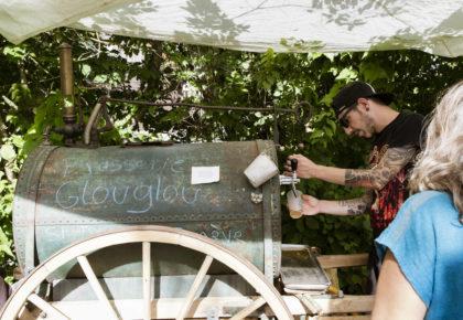 Brasserie Glouglou – Inauguration de la houblonnière